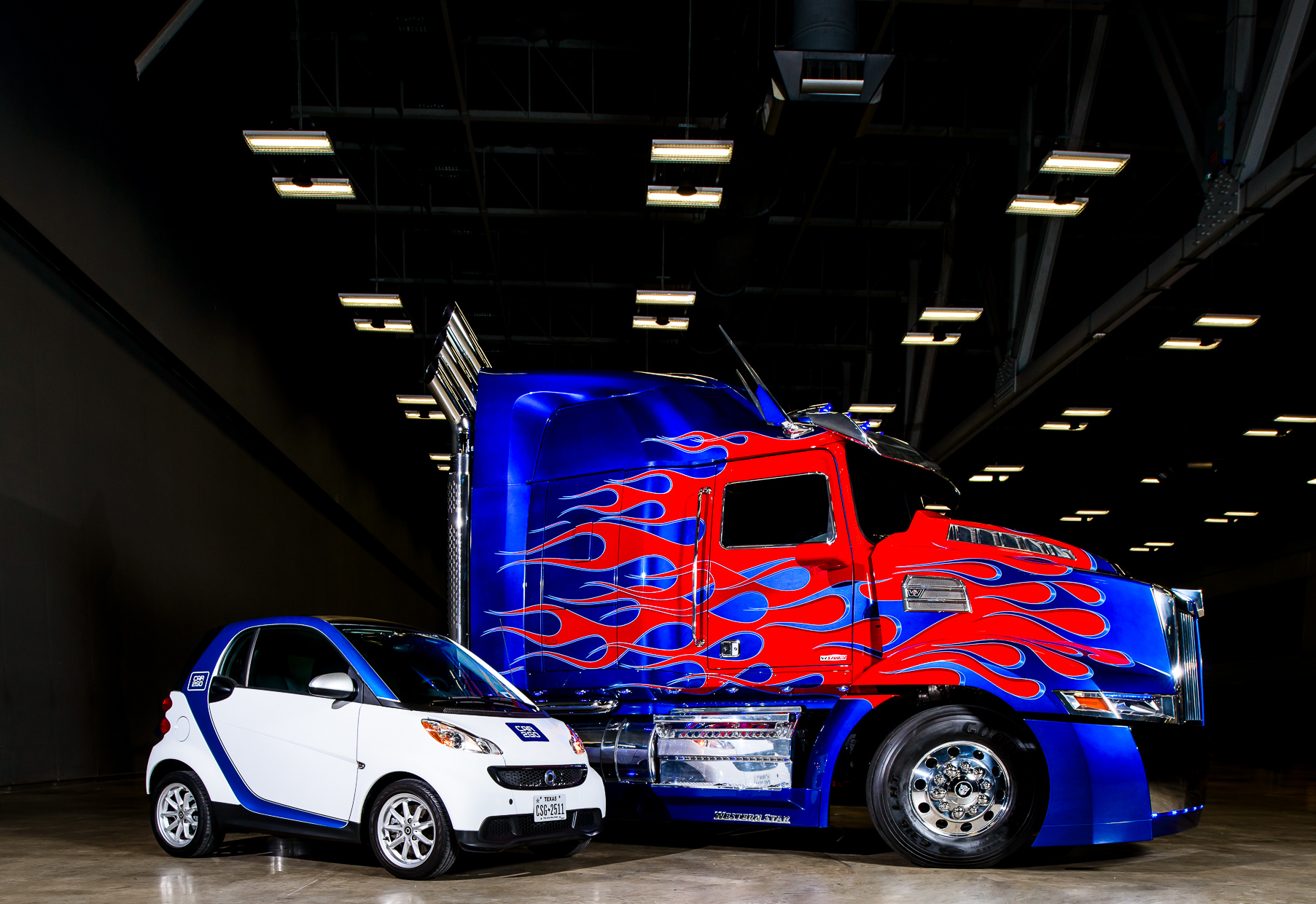 Austin-Commercial-Photographers-Optimus-Prime-Car2go-product-brand-narrative