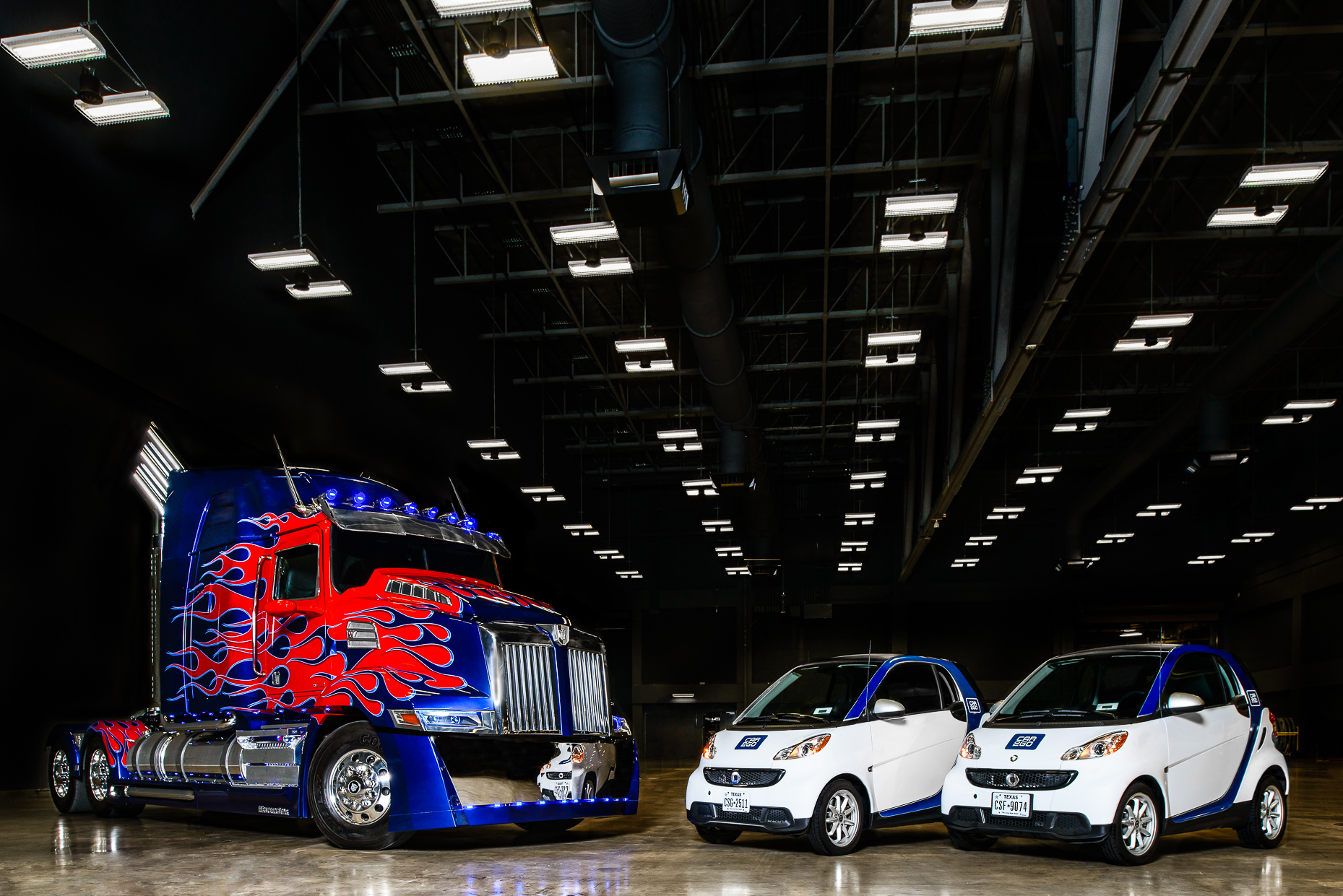 Brand-Narrative-Austin-Commercial-Photographers-Optimus-Prime-Car2go