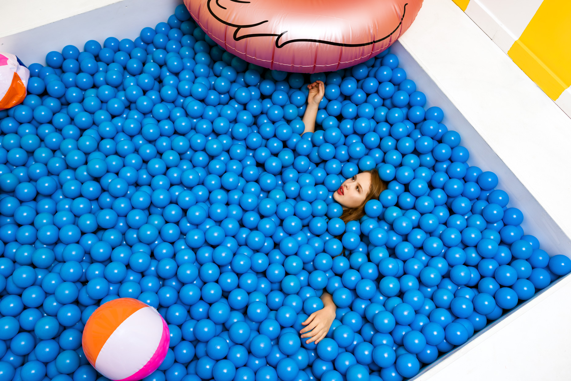 Austin-Editorial-Photographer-Madison-McWilliams-FOMO-Factory-Ball-Pit