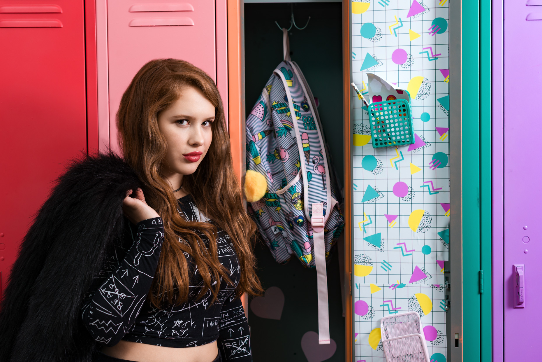 Austin-Editorial-Photographer-Madison-McWilliams-FOMO-Factory-School-Lockers